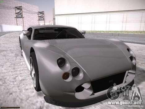 TVR Cerbera Speed 12 para vista inferior GTA San Andreas