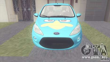 Ford Ka Stance Perry Edtion para GTA San Andreas left