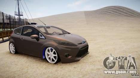 Ford Fiesta 2012 para GTA 4 left