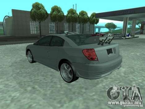 Saturn Ion Quad Coupe 2004 para el motor de GTA San Andreas
