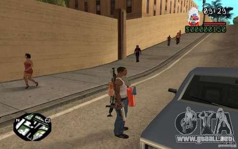 Kinder Surprise para GTA San Andreas tercera pantalla
