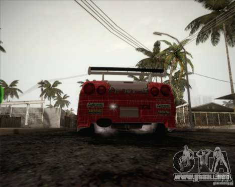 Nissan Skyline Z-Tune v2.0 para vista inferior GTA San Andreas