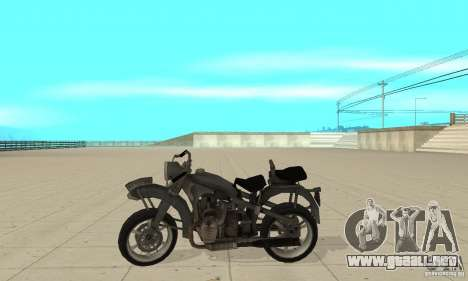Bike Wolfenstein para GTA San Andreas left