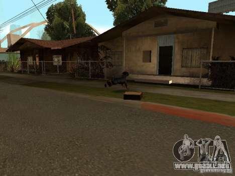 Animales para GTA San Andreas sexta pantalla