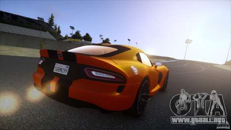 Dodge Viper GTS 2013 v1.0 para GTA 4 left