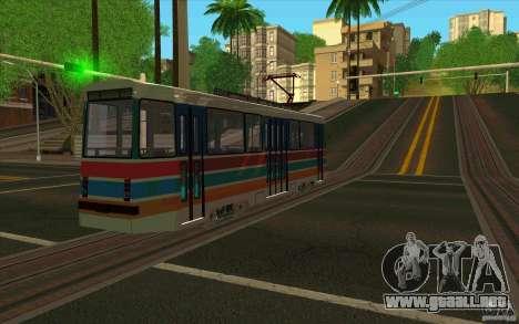 Timis 2 para GTA San Andreas vista posterior izquierda