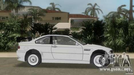 BMW M3 para GTA Vice City left