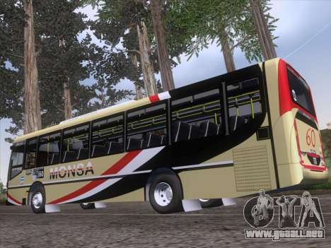 Metalpar Iguazu MT-15 para vista lateral GTA San Andreas