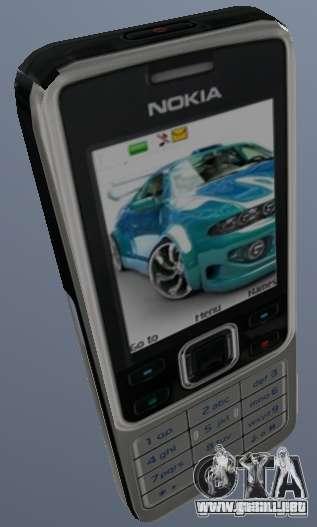Nokia 6300 Mobile para GTA San Andreas