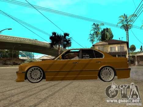 BMW e34 Drift Body para GTA San Andreas left