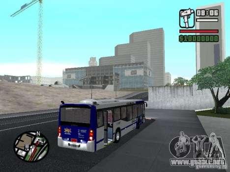 Busscar Urbanuss Ecoss MB 0500U Sambaiba para la visión correcta GTA San Andreas