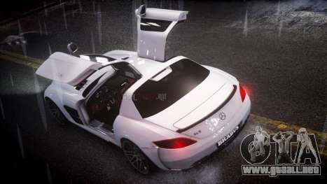 Mercedes-Benz SLS 2011 Brabus AMG Widestar v1.1 para GTA 4 left
