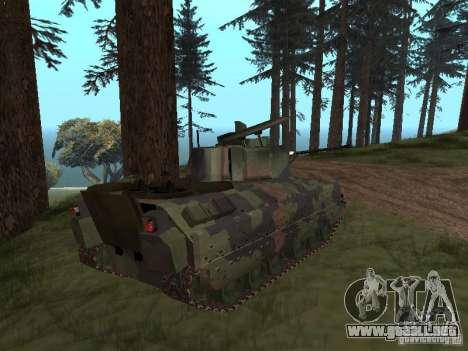 M2A3 Bradley para GTA San Andreas left