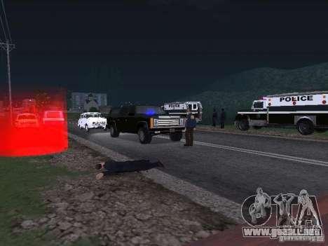 Police Post para GTA San Andreas segunda pantalla