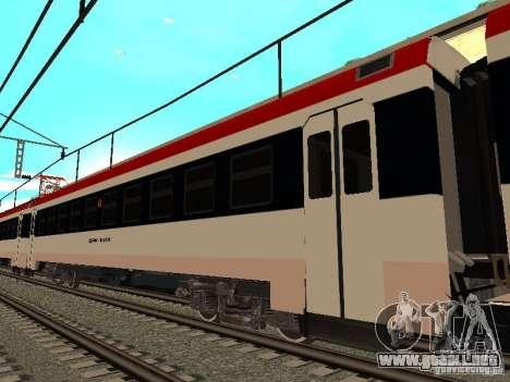 0155 Ed4mk para GTA San Andreas vista posterior izquierda