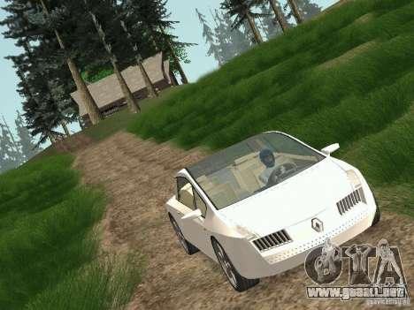 Renault Vel Satis para GTA San Andreas vista posterior izquierda