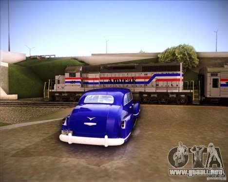 Lissiter 75 para GTA San Andreas vista posterior izquierda