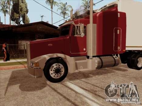 Peterbilt 377 para visión interna GTA San Andreas