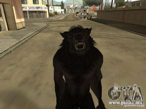 Werewolf from The Elder Scrolls 5 para GTA San Andreas