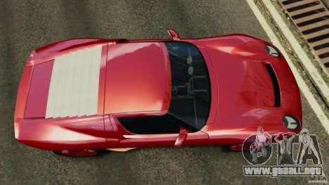 Lamborghini Miura 2006 para GTA 4 visión correcta