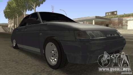 VAZ 2110 Dag para GTA San Andreas vista hacia atrás