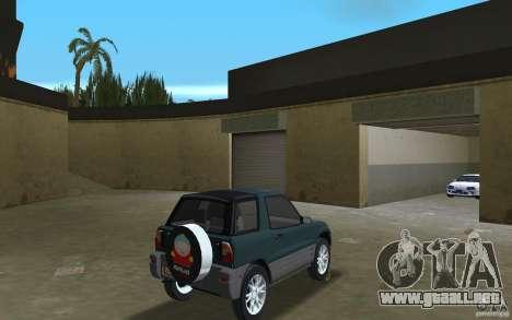Toyota RAV4 para GTA Vice City visión correcta