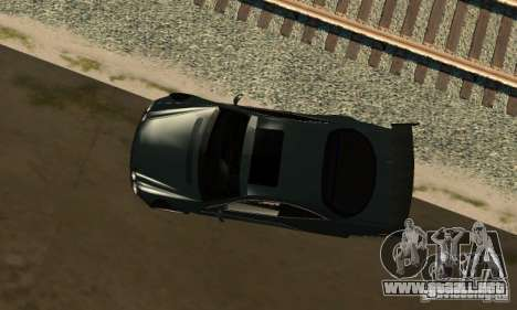 Mercedes-Benz CL65 Eligible Ferry Tuning para GTA San Andreas vista posterior izquierda