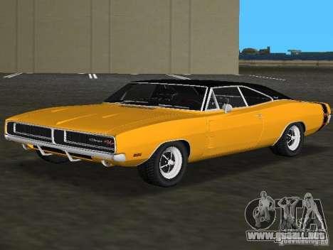 Dodge Charger RT 1969 para GTA Vice City