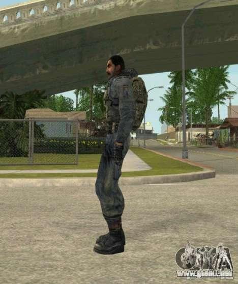 Agrupación de mercenarios de un acosador para GTA San Andreas sexta pantalla