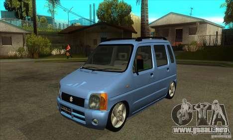 Suzuki Karimun GX para GTA San Andreas