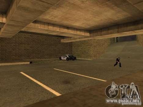 The Los Angeles Police Department para GTA San Andreas quinta pantalla