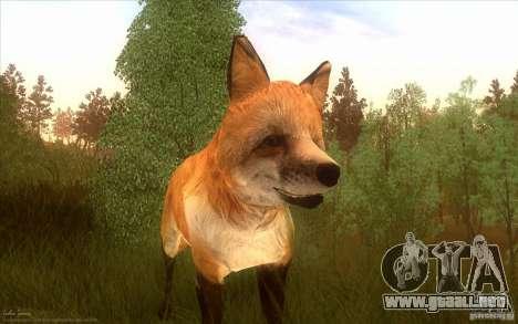 Wild Life Mod 0.1b para GTA San Andreas sucesivamente de pantalla