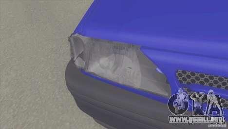 Kia Pride 131 SX para la visión correcta GTA San Andreas