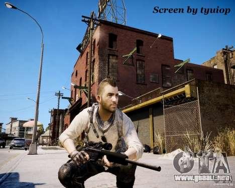 Modern Warfare 3 Soap Africa para GTA 4 tercera pantalla