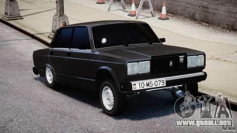 Estilo Avtosh VAZ-2107 para GTA 4 visión correcta