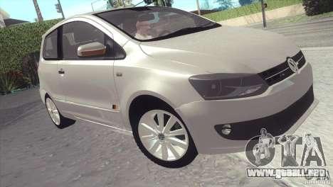 Volkswagen Fox 2013 para GTA San Andreas