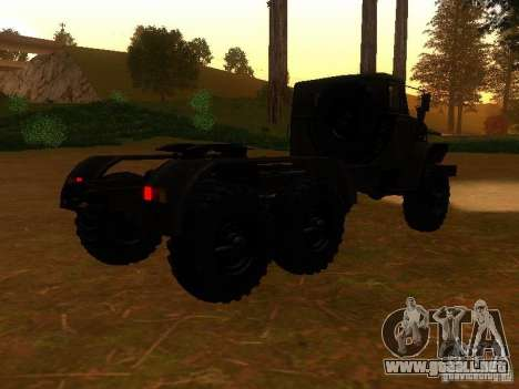 Ural-4420 tractor para la visión correcta GTA San Andreas