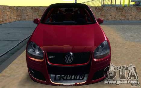 VolksWagen Golf GTI MK5 para GTA San Andreas vista posterior izquierda