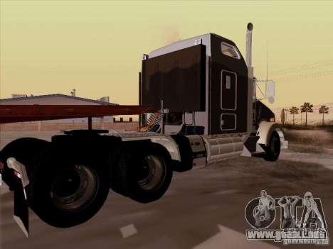 Kenworth T800 para la visión correcta GTA San Andreas