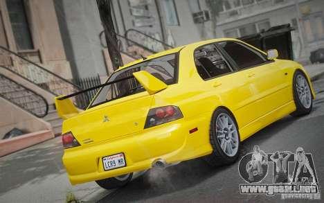 Mitsubishi Lancer Evolution IX MR 2006 para GTA 4 left