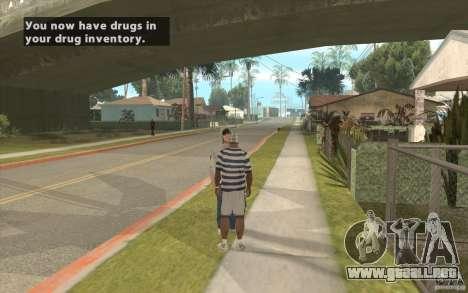 The Black Market Mod v.1.0 para GTA San Andreas segunda pantalla