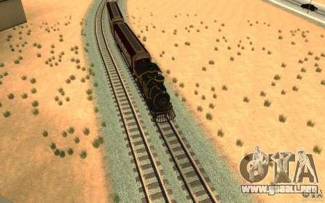 Locomotive para la visión correcta GTA San Andreas