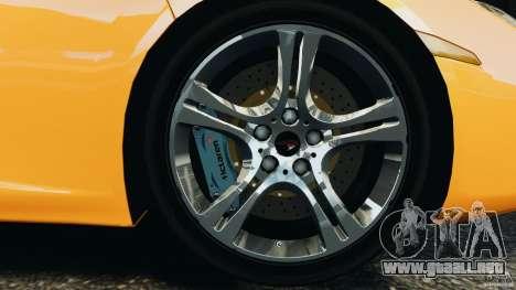 McLaren MP4-12C v1.0 [EPM] para GTA 4 vista desde abajo