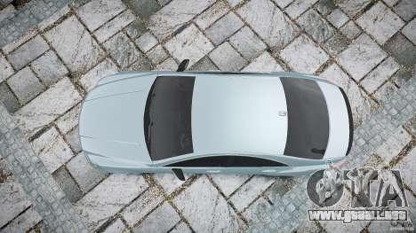 Mercedes Benz CLS 63 AMG 2012 para GTA 4 visión correcta