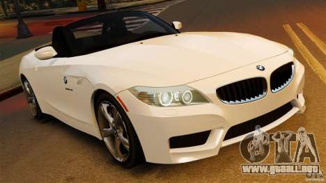 BMW Z4 sDrive 28is 2012 v2.0 para GTA 4