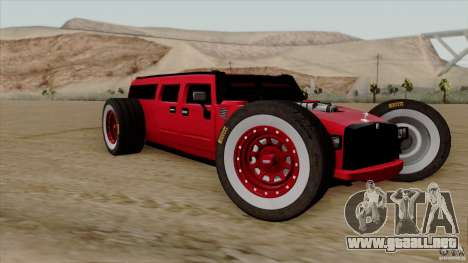 Hummer H2 The HumROD para GTA San Andreas