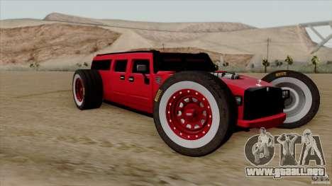 Hummer H2 The HumROD para GTA San Andreas