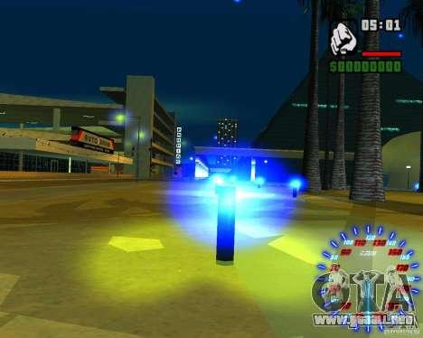 Nuevos efectos para GTA San Andreas quinta pantalla