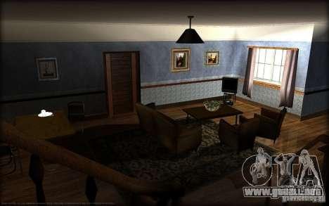 Nuevas texturas para casa Džonsonov para GTA San Andreas segunda pantalla