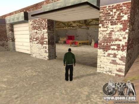 Activación de garajes no utilizados para GTA San Andreas segunda pantalla